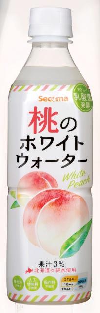 桃のホワイトウォーター